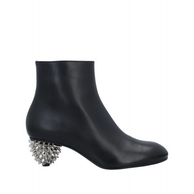 ALEXANDER MCQUEEN Ships Free Hot - Womens Ankle boots Soft Leather NXHXE205