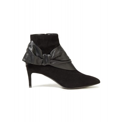 BALMAIN New Style - Girl's Ankle boots Soft Leather, Textile fibers JFXI81992