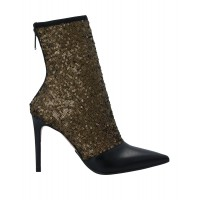 BALMAIN Sale quality - Girl's Ankle boots Soft Leather, Textile fibers 2H46B6694