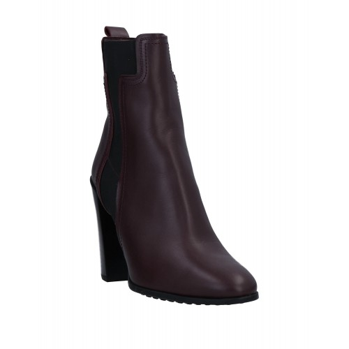 TOD'S In Store Trends 2021 - Women's Ankle boots Soft Leather, Elastic fibres NID2X8727