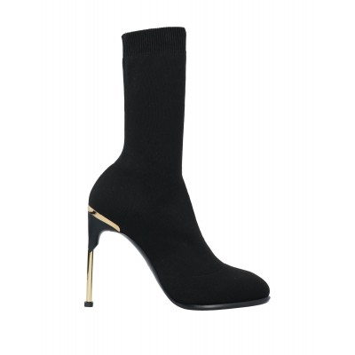ALEXANDER MCQUEEN On Line New - Women's Ankle boots Textile fibers, Soft Leather NYN3K4589