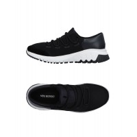 NEIL BARRETT Clearance Sale Fitted - Men's Sneakers Soft Leather, Textile fibers AKA7Y1150