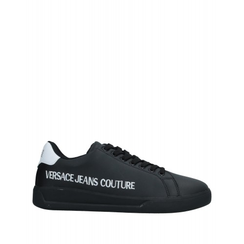 VERSACE JEANS COUTURE stores Fit - Men's Sneakers Soft Leather, Textile fibers OY5XN3154