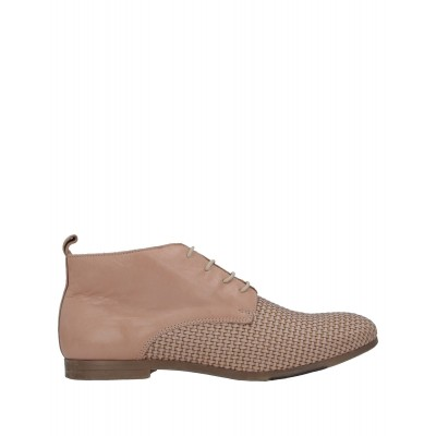 ANTICA CUOIERIA in new look Regular - Womens Ankle boots Soft Leather, Textile fibers XDUD75621