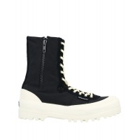 PAURA x SUPERGA on sale online Trend - Women Ankle boots 80% Cotton, 20% Soft Leather Size 2 3LHY2741