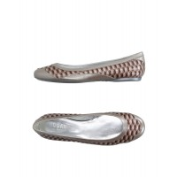 HOGAN by KARL LAGERFELD on style Trend - Girl's Ballet flats Soft Leather RFJ8G9409