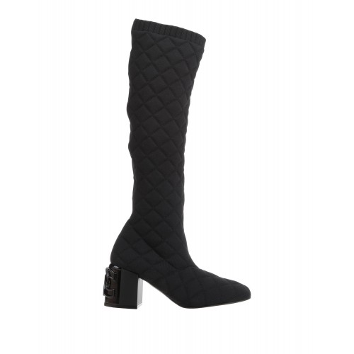 CASADEI Ships Free Comfort - Womens Boots Textile fibers 9FMXF6567