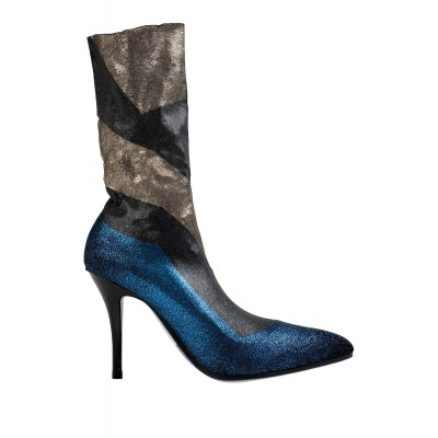 LUCA VALENTINI new in Hot - Womens Ankle boots Soft Leather, Textile fibers F7AFT2337