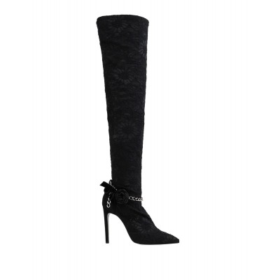 GIANCARLO PAOLI on style Regular - Women's Boots Soft Leather, Textile fibers, Nickel BV48L4162