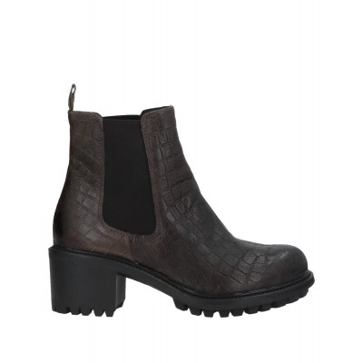 1725.A quality - Women Ankle boots Soft Leather, Elastic fibres X7VZT6727