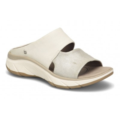 Airmont Bionica Women Sandals - Mid heel Sandals Silver White On Line BFDQ3448