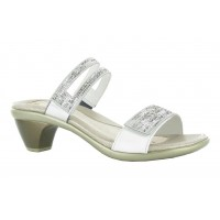 Temper Naot Women Sandals - Mid heel Sandals White Pearl on sale near me GLSN6012