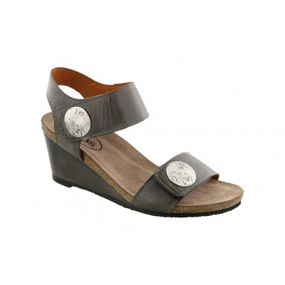 Carousel 2 Taos Women Sandals - Mid Heel Sandals Graphite In Size 12 Cost JPMO1065