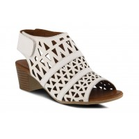 Dorotha Spring Step Women Sandals|||Mid Heel Sandals White Comfortable Walking outfits PMGC5558