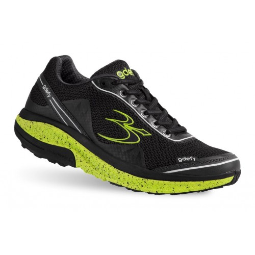 Mighty Walk Gravity Defyer Women Athletic Shoes|||Athletic Shoes New Black-lime new in GPXP7592