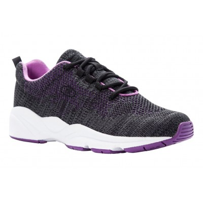 Stability Fly Propet Women Athletic Shoes - Athletic Shoes New Black-Berry 2021 New KWVI2823