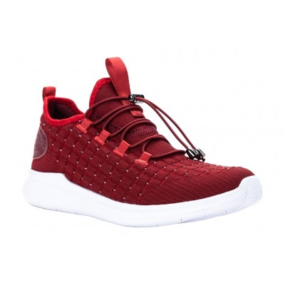 Travelbound Propet Women Athletic Shoes - Athletic Shoes New Red Metallic Best UKAD7141