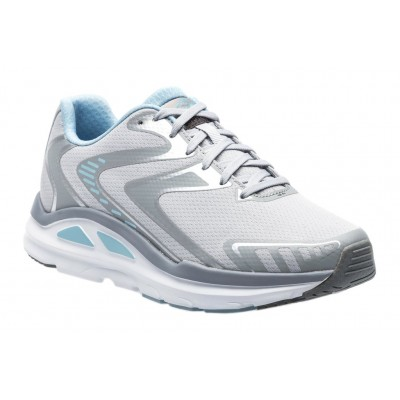 Valiant ABEO PRO Women Athletic Shoes - Athletic Shoes New Light Grey-Sky Fitted CVIP3717