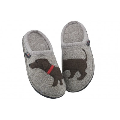 Doggy Haflinger Women Slippers - Casual Slippers Earth Business Casual JQNS977
