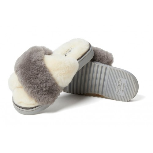 New Castle Fireside by Dearfoam Women Slippers|||Casual Slippers Natural Indoor Outdoor Cheap IGGM7885