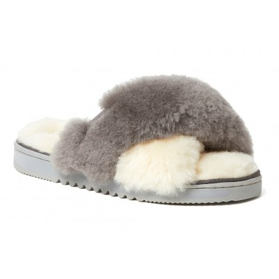 New Castle Fireside by Dearfoam Women Slippers - Casual Slippers Natural Indoor Outdoor Cheap IGGM7885