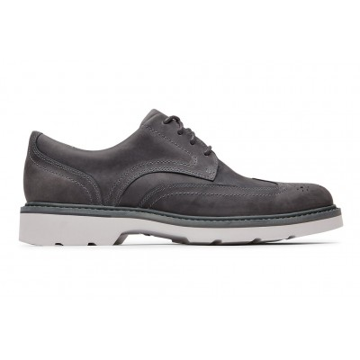 Charlee Wingtip Rockport Men Shoes Sale - Casual Shoes Grey on sale near me NHBC6868