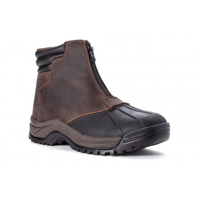 Blizzard Mid Zip Propet Men Boots - Casual Boots Brown Black Novelty on sale online XYMQ957