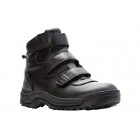 Cliff Walker Tall Strap Propet Men Boots - Casual Boots Black Wide Width Cost VLGD1859