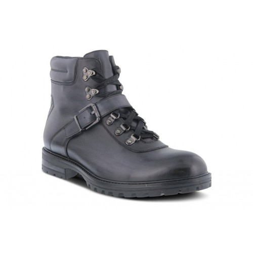 Mike Spring Step Men Boots   Casual Boots Black quality ELBP5549