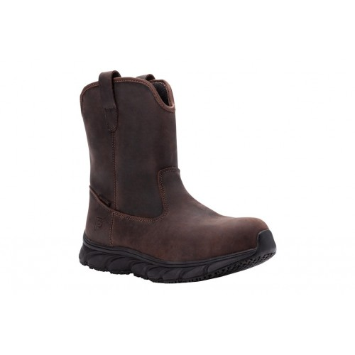 Smith Propet Men Boots   Casual Boots Brown Crazy Horse In Wide Width the best MKVR1843