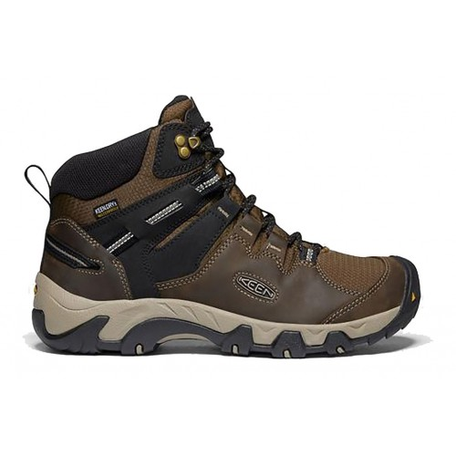 Steens Mid WP Keen Men Boots|||Casual Boots Canteen-Black Size 13 new in MFBH5800