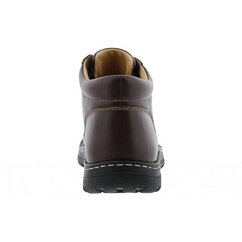 Trevino Drew Shoes Men Boots   Casual Boots Brown Leather Best LJTK8722