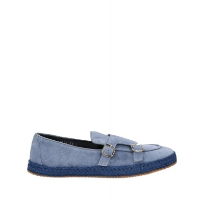 DOUCAL'S wholesale The Best Brand - Mens Loafers Soft Leather, Textile fibers 13IFA9137