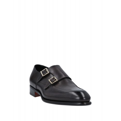 SANTONI For Sale The Best Brand - Mens Loafers Soft Leather 3IZDE8246