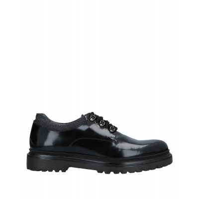 ALBERTO GUARDIANI new look outfits - Men's Laced shoes Soft Leather, Textile fibers SFOSL494